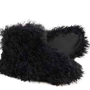 Nine West Faux Fluffy Bootie Slippers